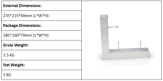 Hook Test Fixture for Cords and Loops