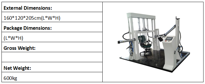 Chair Assembly Testing Machine