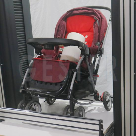 Baby Stroller Testing Machine Rotating Test GT-MH22