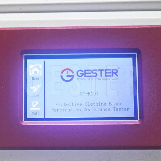 Protective Clothing Blood Penetration Resistance Tester GT-RC01