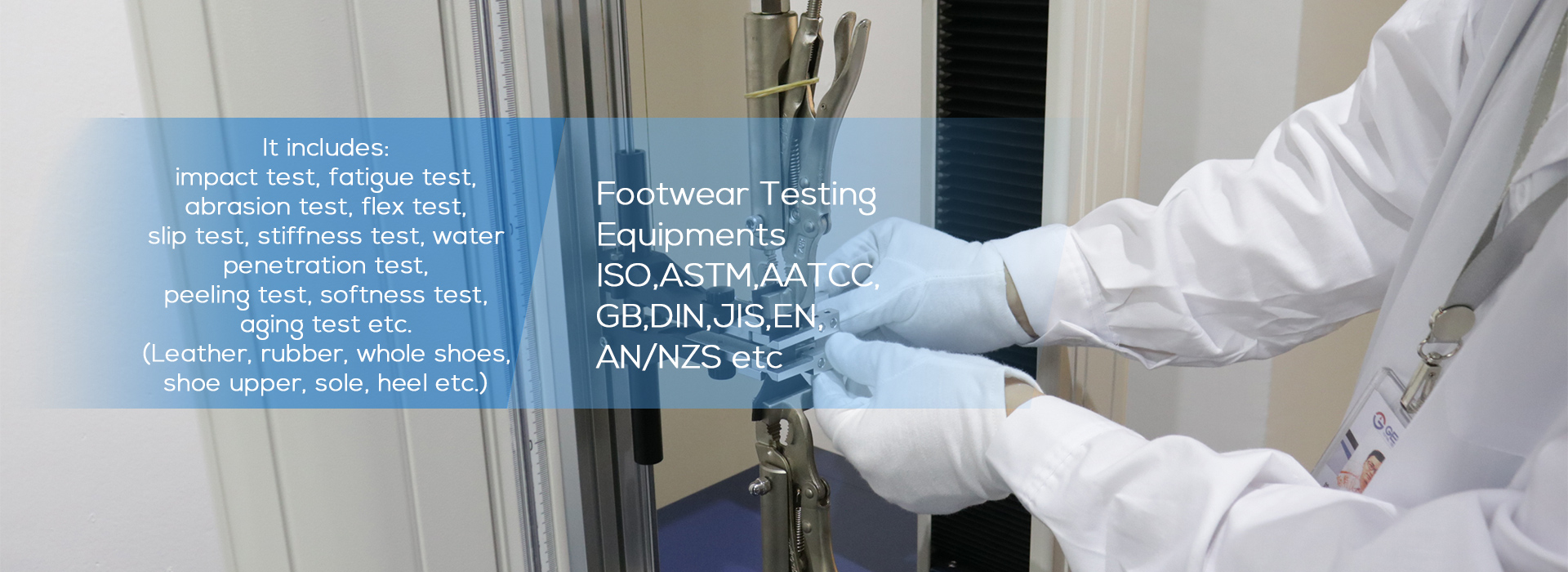Footwear Testing Equipment