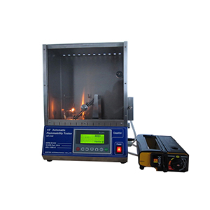 Operating procedure of 45 Degree Automatic Flammability Tester