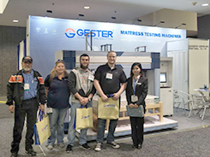 ISPA EXPO 2018 (GESTER mattress testing machine)