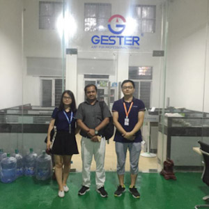 Machines pre-shipment inspection by Bangladesh customer